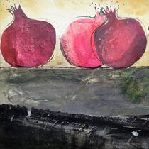 Granatäpfel I by Heike Jäschke
