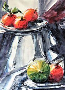 Stillleben mit Früchten von Heike Jäschke