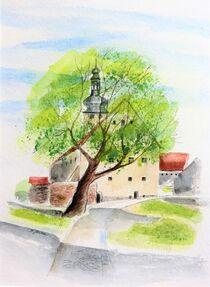 Ehemalige Burglinde Burg Querfurt von Heike Jäschke