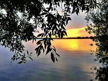 Sommerabend am See von Heike Jäschke