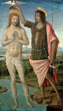 The Baptism of Christ von Guidoccio di Giovanno Cozzarelli