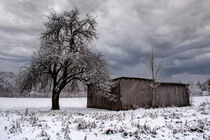 Swabian snow scenery by Michael Naegele