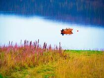 Boot orange von vogtart