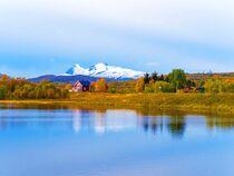 Fjord auf Senja von vogtart