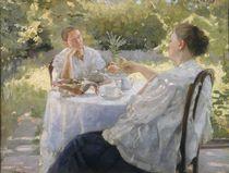 In the Garden by Lukjan Vasilievich Popov