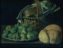 Still Life With Figs von Luis Egidio Menendez or Melendez