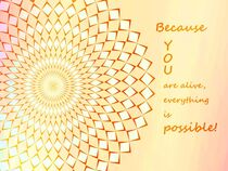 Mandala & Spruch 4 by vogtart