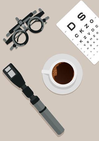 Optometry-coffee-poster