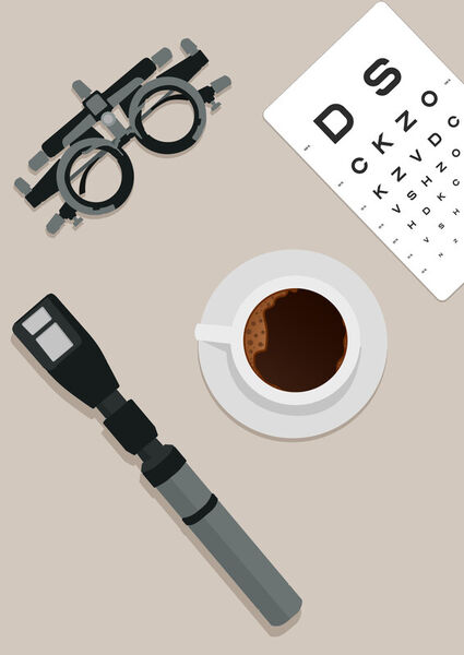 Optometry-coffee-poster
