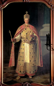 Francis II by Ludwig or Louis Streitenfeld