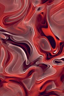 Abstrakte Flammen orange by dresdner