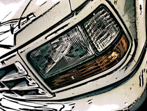 Truck Headlight by Phil Perkins