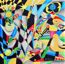 Kubismus  by Heinz Munk