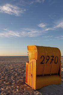 Strandkorb auf Juist by Dirk Rüter