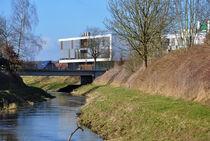 Vechte Nordhorn Architektur  by Heinz Munk