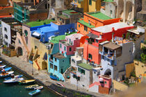 colorful houses of  Procida by Desiree Picone