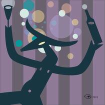 Taurus Bubble Birthday by Claudia Bahn