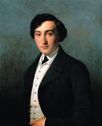 Portrait of Lucien Petipa  by Louise Adelaide Desnos