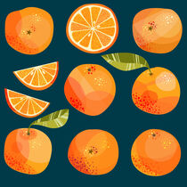 Oranges in the Dark by Nic Squirrell