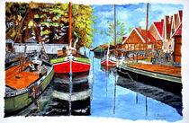 Alter Hafen Nordhorn by Heinz Munk