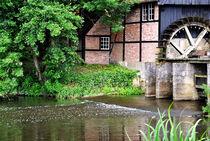 Wassermühle in Lage by Heinz Munk