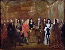 Louis XIV  von Louis de Silvestre