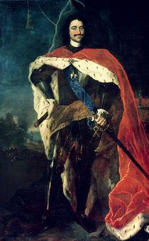 Peter the Great  von Louis Caravaque