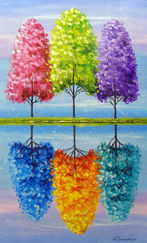 Each tree has a vibrant life by Olha Darchuk