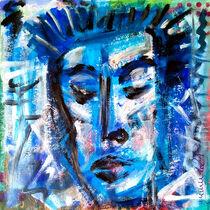Blue Portrait von mimulux