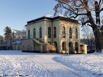 Teehaus Altenburg im Winter von alsterimages