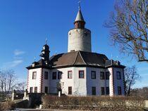 Burg Posterstein mit Bergfried von alsterimages