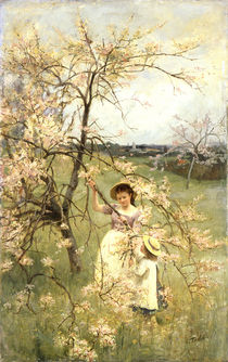 Spring by Henry George Todd