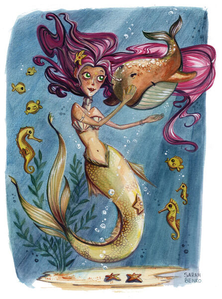 Mermaid-sarah-benko