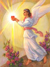 The Angel Of Saint Valentine by Svitozar Nenyuk
