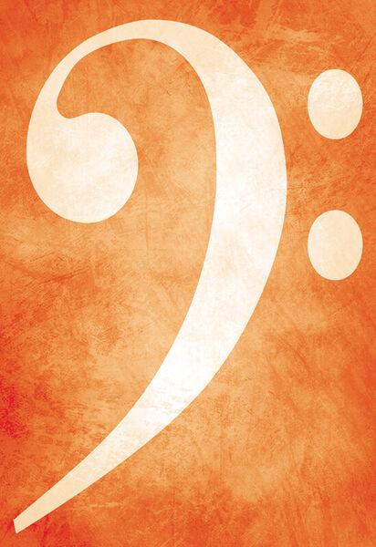 Bass-schluessel-orange