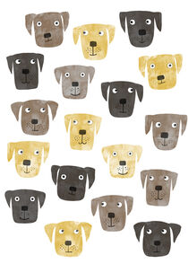 Labrador Retriever Dogs by Nic Squirrell
