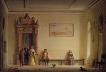 The Waiting Room by Hermann Dyck