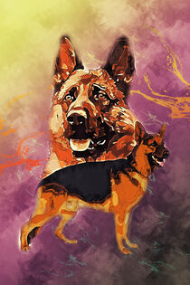 Schäferhund by printedartings