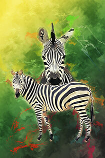 Zebra by printedartings