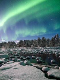 Aurora Borealis - Polarlichter  by marie schleich