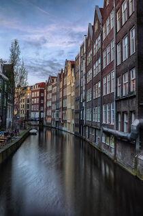 Amsterdam am Abend by Dirk Rüter