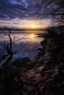 Sonnenaufgang am Baldeneysee von Holger Brandt