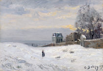 Snow at Montmartre by Hippolyte Camille Delpy