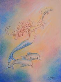 Delphine Engel und Heiler der Meere by Marita Zacharias