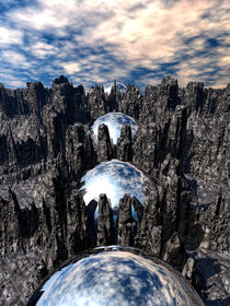Mysterious Mountain Spheres by Phil Perkins