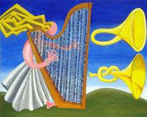 Eine Harfe, zwei Trompeten  One Harp,Two Trumpets von Hal Jos