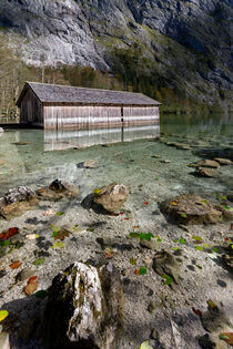 Bootshaus am Obersee by Dirk Rüter