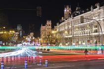 Madrid Cityscape von Xaume Olleros