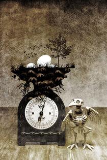 Eiland - Still mit Vogel by Petra Dreiling-Schewe