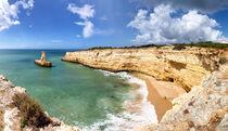 Küstenlandschaft an der Algarve by Dirk Rüter